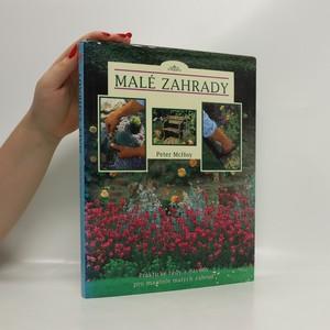 náhled knihy - Malé zahrady