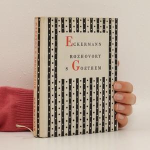 náhled knihy - Rozhovory s Goethem
