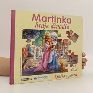 náhled knihy - Martinka hraje divadlo. Knížka s puzzle