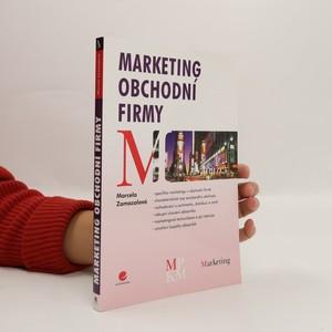 náhled knihy - Marketing obchodní firmy