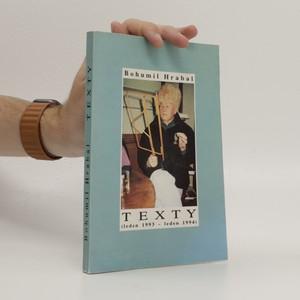 náhled knihy - Texty (leden 1993 - leden 1994)