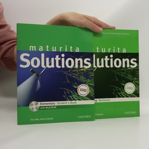 náhled knihy - Maturita Solutions. Elementary. Student's Book + Workbook