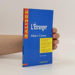 náhled knihy - L'étranger. Albert Camus