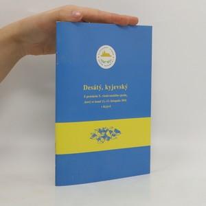 náhled knihy - Desátý, kyjevský. Z protokolu X. všeslovanského sjezdu