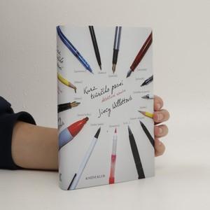 náhled knihy - Kurz tvůrčího psaní