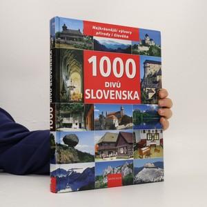 náhled knihy - 1000 divů Slovenska
