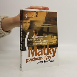 náhled knihy - Matky psychoanalýzy