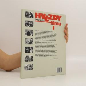 antikvární kniha Hvězdy českého filmu (1. díl), 2003