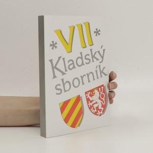 náhled knihy - Kladský sborník. VII