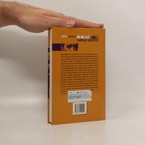 antikvární kniha Dlouhé noci Karla Sabiny, 2011