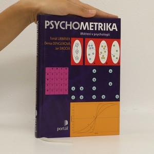 náhled knihy - Psychometrika. Měření v psychologii