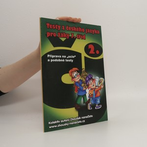 náhled knihy - Testy z českého jazyka pro žáky 7. tříd. 2. část