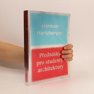 náhled knihy - Přednášky pro studenty architektury