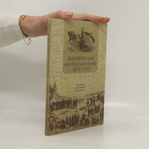 náhled knihy - Zemědělská rada pro Království české 1873-1918