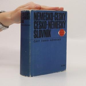 náhled knihy - Německo-český a česko-německý slovník. Část německo-česká