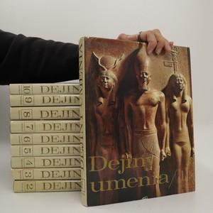náhled knihy - Dejiny umenia 1. - 10. díl (10 svazků)