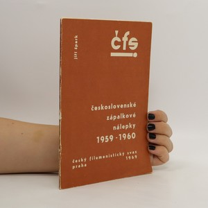 náhled knihy - Československé zápalkové nálepky 1959-1960. 2