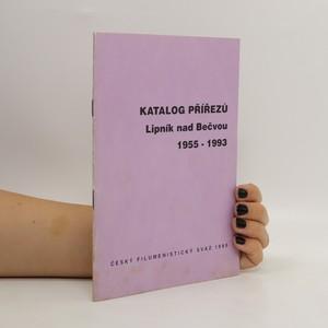 náhled knihy - Katalog přířezů Lipník nad Bečvou 1955-1993