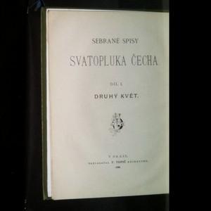 antikvární kniha Sebrané spisy Svatopluka Čecha 1.-3. díl, 1899