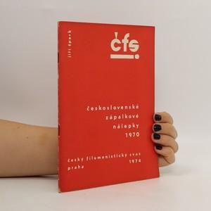 náhled knihy - Československé zápalkové nálepky 1970. 2 : České domácí nálepky