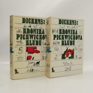 náhled knihy - Kronika Pickwickova klubu. I. - II. díl (2 svazky, komplet)