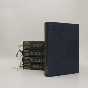 náhled knihy - Technický naučný slovník 1.-5. díl (5 svazků)