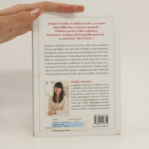 antikvární kniha Zázračný úklid: pořádek jednou provždy, 2015