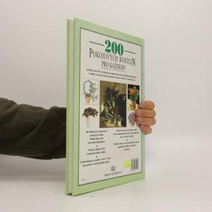 antikvární kniha 200 pokojových rostlin pro každého, 1992