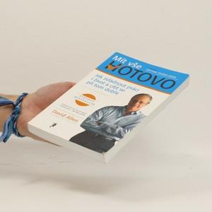 antikvární kniha Mít vše hotovo , 2008