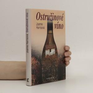 náhled knihy - Ostružinové víno