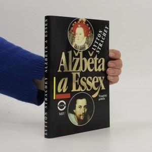náhled knihy - Alžběta a Essex