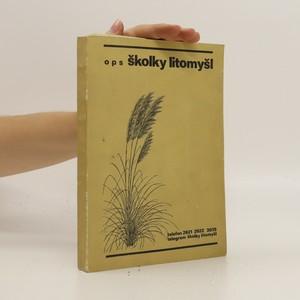 náhled knihy - ops školky Litomyšl - Katalog školkařských výpěstků