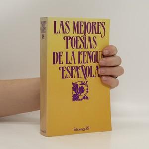 náhled knihy - Las mejores poesías de la lengua espanola