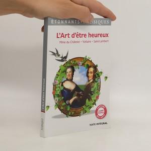 náhled knihy - L'art d'être heureux