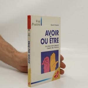 náhled knihy - Avoir ou etre
