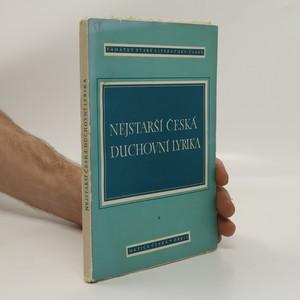 náhled knihy - Nejstarší česká duchovní lyrika