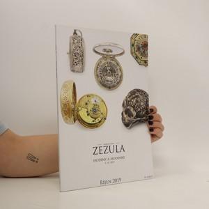 náhled knihy - Aukční dům Zezula : hodiny a hodinky : říjen 2019