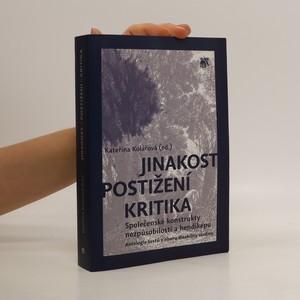 náhled knihy - Jinakost – postižení – kritika: Společenské konstrukty nezpůsobilosti a hendikepu