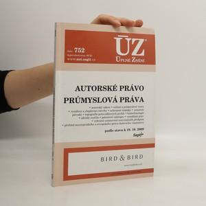 náhled knihy - Autorské právo. Průmyslová práva