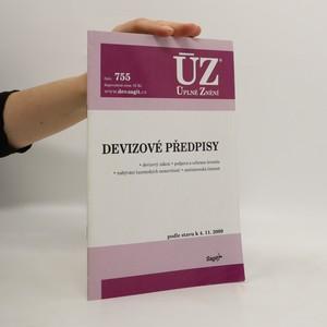 náhled knihy - Devizové předpisy
