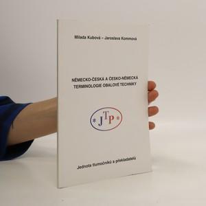 náhled knihy - Německo-česká a česko-německá terminologie obalové techniky