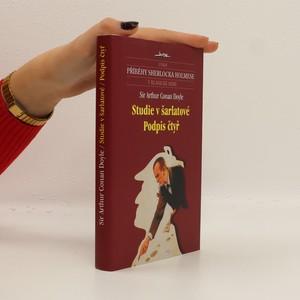 náhled knihy - Studie v šarlatové. Podpis čtyř