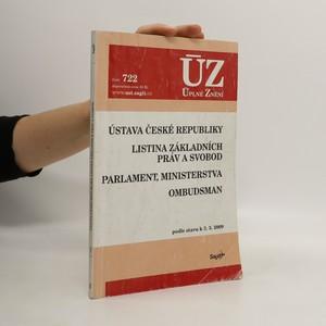 náhled knihy - Ústava České republiky. Listina základních práv a svobod. Parlament, ministerstva. Ombudsman