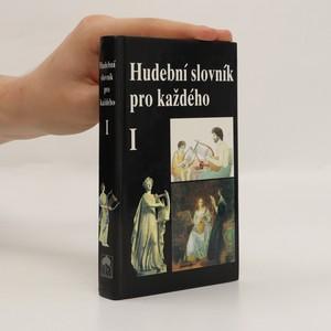náhled knihy - Hudební slovník pro každého