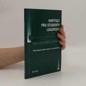 náhled knihy - Kapitoly pro studenty logopedie : text k distančnímu vzdělávání