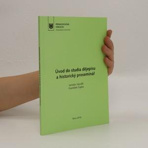 náhled knihy - Úvod do studia dějepisu a historický proseminář