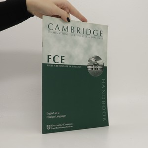 náhled knihy - The official FCE candidate handbook FCE handbook