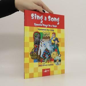 náhled knihy - Sing a song: Special Days in a Year = Děti zpívají anglicky: Významné dni v roce