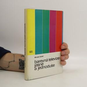 náhled knihy - Barevná televize jasně a jednoduše