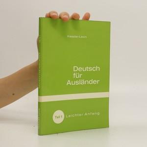 náhled knihy - Deatusch für Ausländer. Teil 1 - Leichter Anfang